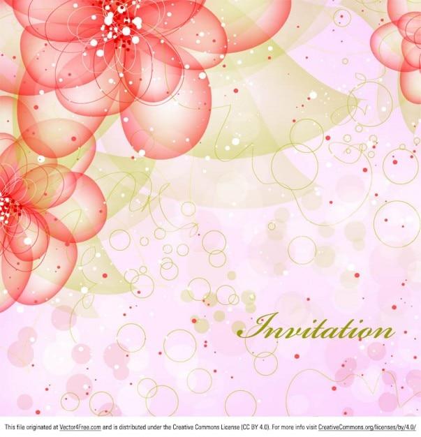 Вертикальный фон розовый