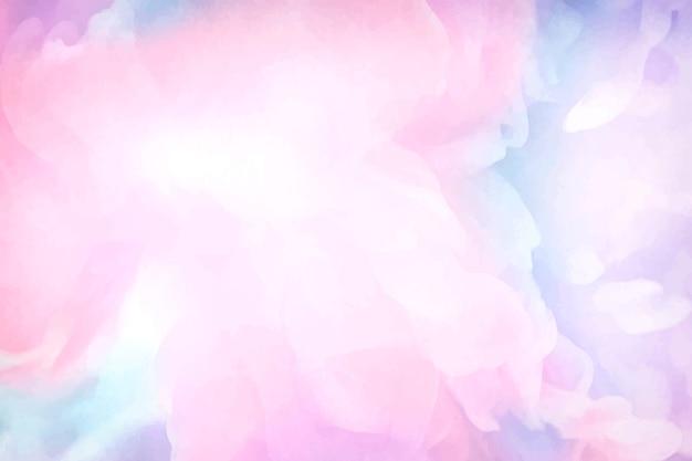 鮮やかなピンク色の水彩画の背景 無料ベクター