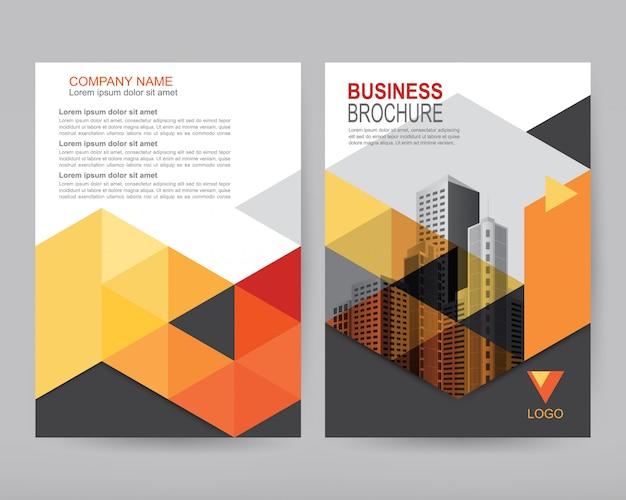 6afe77aa84cd Векторный годовой отчет Бизнес-брошюра, дизайн листовок Вектор ...