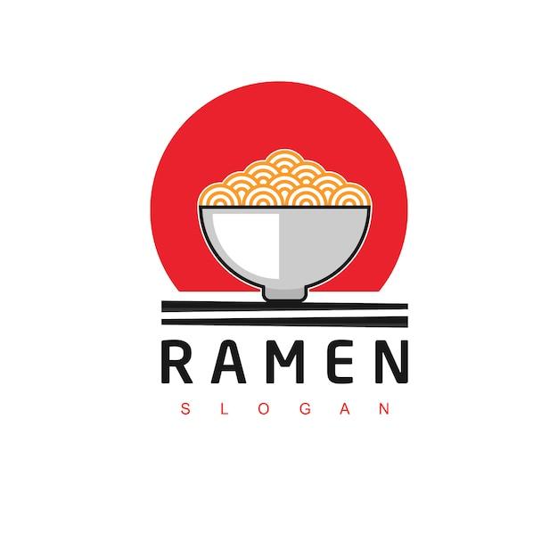 Noodle logo Premium Vector