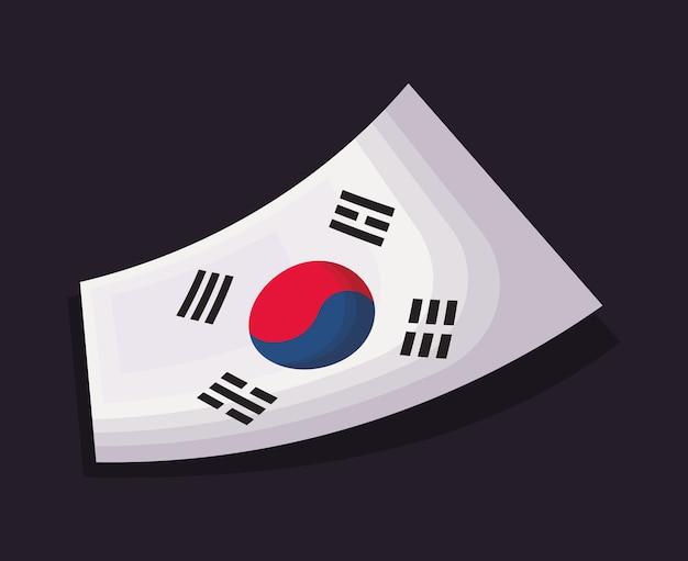 North korea design Premium Vector