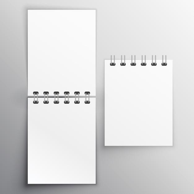 Note Bloc Mockup Vector Free Download