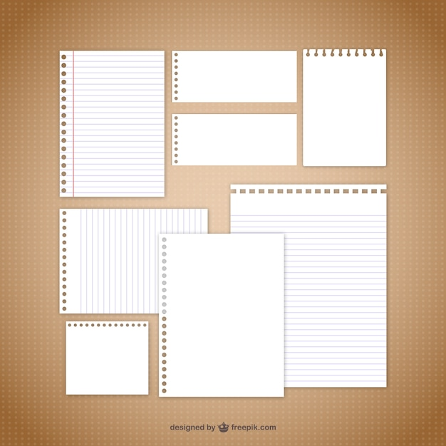 Note Paper Vector | Free Download