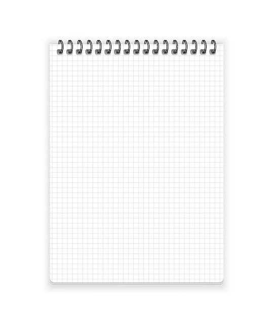 Notebook paper Premium Vector