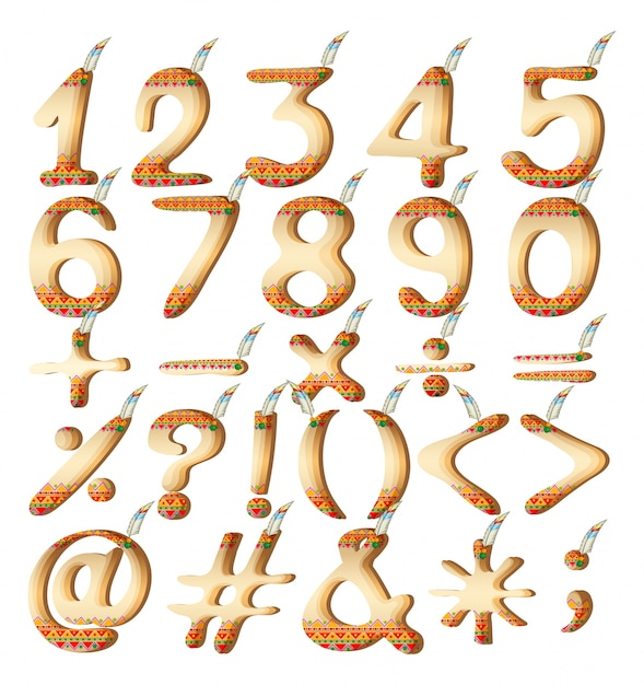 Free mathematical symbols download