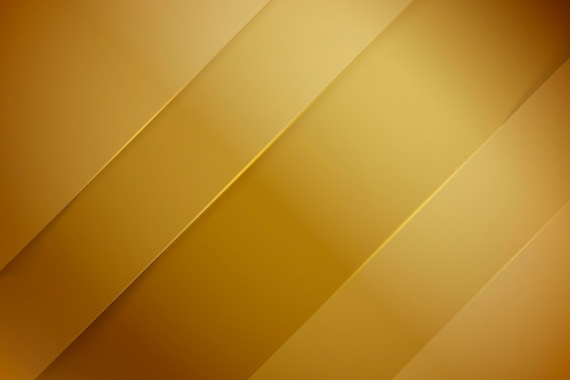 Oblique lines gold luxury background Free Vector