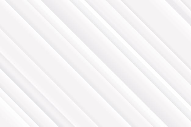 Oblique lines white elegant background Free Vector