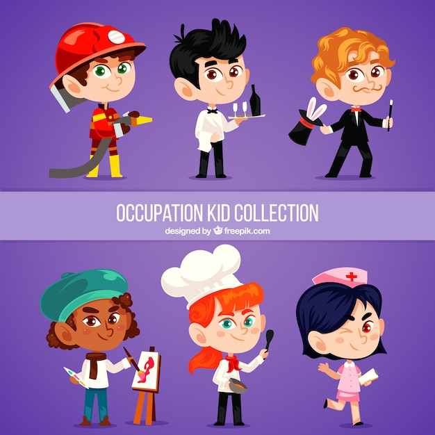 Professions and occupation specialists vector isolated set.... eps ...