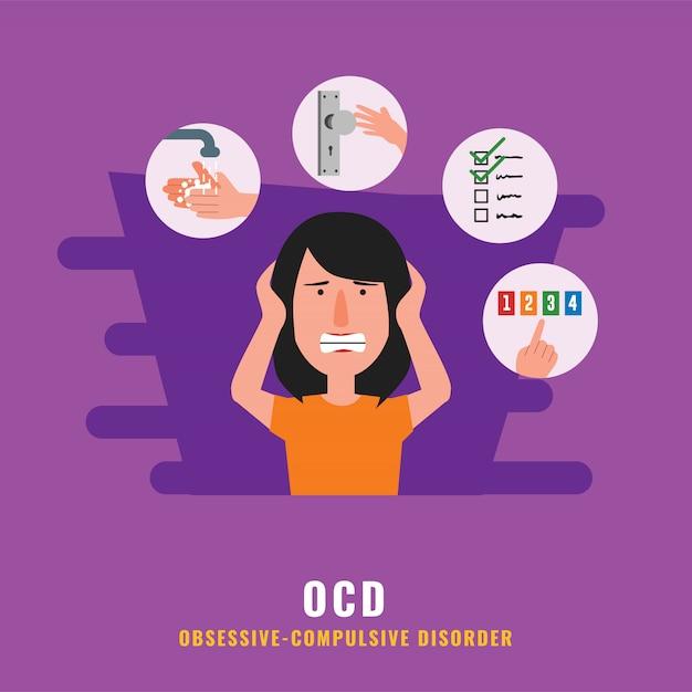 Ocd Premium Vector