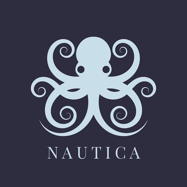 Концепция логотипа осьминог Бесплатные векторы