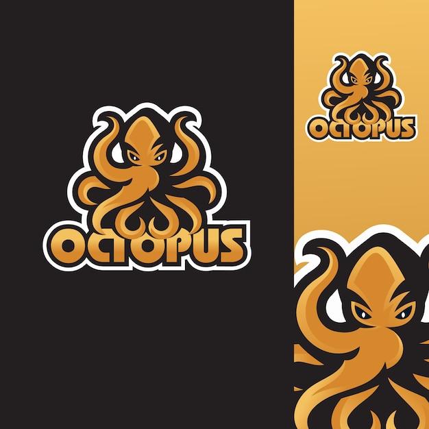 Octopus logo templates Premium Vector