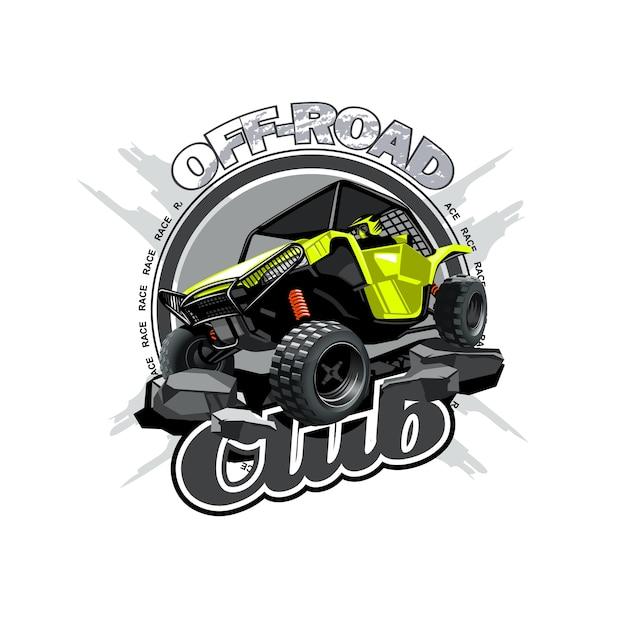 Off-road atv buggy Premium Vector