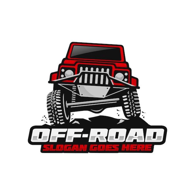Off road logo template Premium Vector