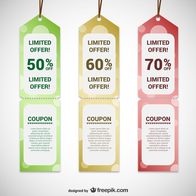 Offer tags templates
