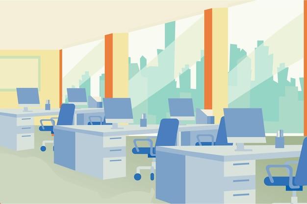 Стиль фона офиса Бесплатные векторы