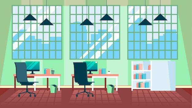 Office - sfondo per videoconferenze Vettore gratuito