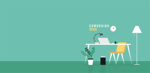 Office business people learning and teaching work using illustration Premium Vector