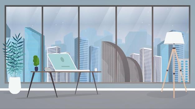ディレクターまたはチーフイラストのオフィス Premiumベクター