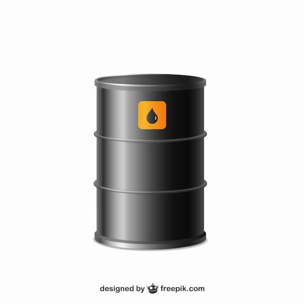 Oil barrel Free Vector