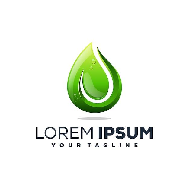 Oil gas logo vector Premium Vector
