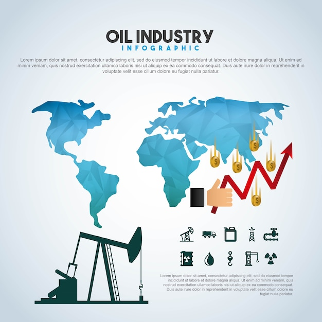 Oil industry infographic extraction financial growth world vector oil industry infographic extraction financial growth world premium vector gumiabroncs Choice Image