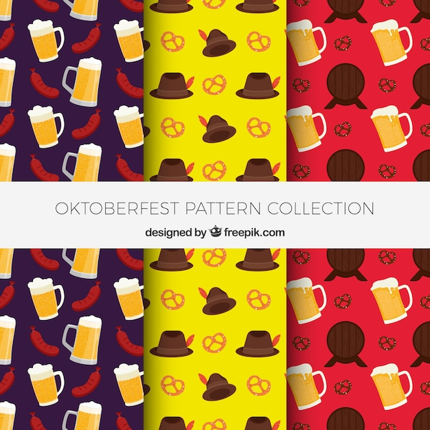 Oktoberfest and beer patterns