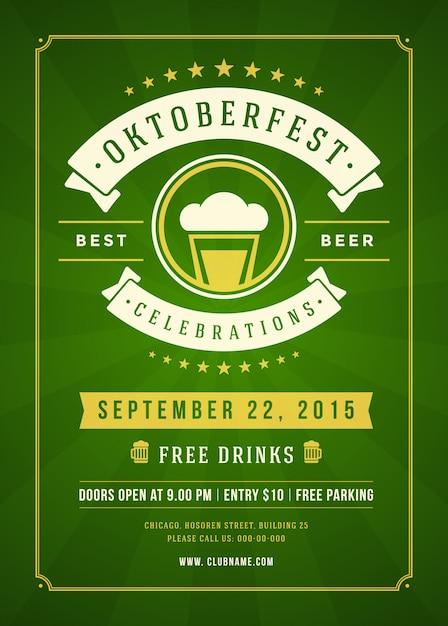 POSTER Oktoberfest Beer Door Poster