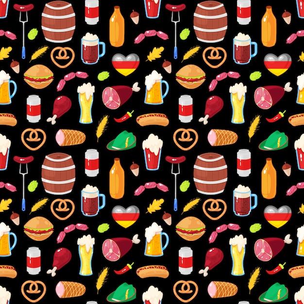 Oktoberfest beer festival Premium Vector