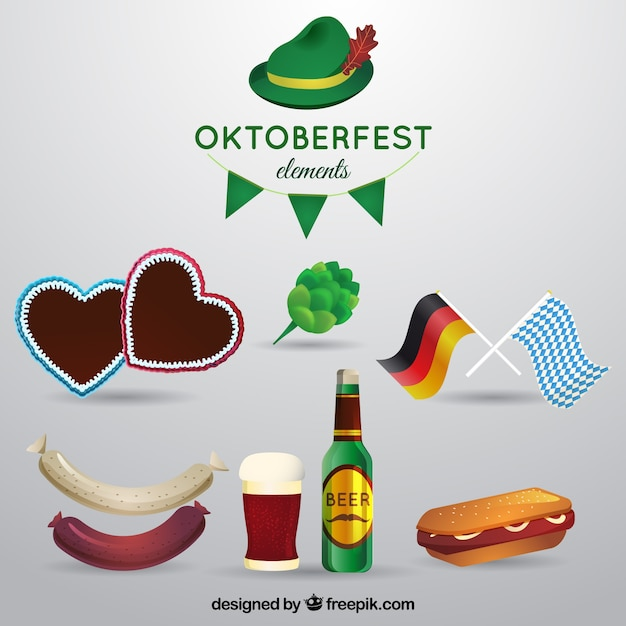 Oktoberfest elements collection