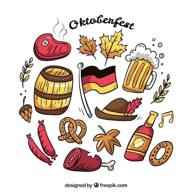 Oktoberfest food collection