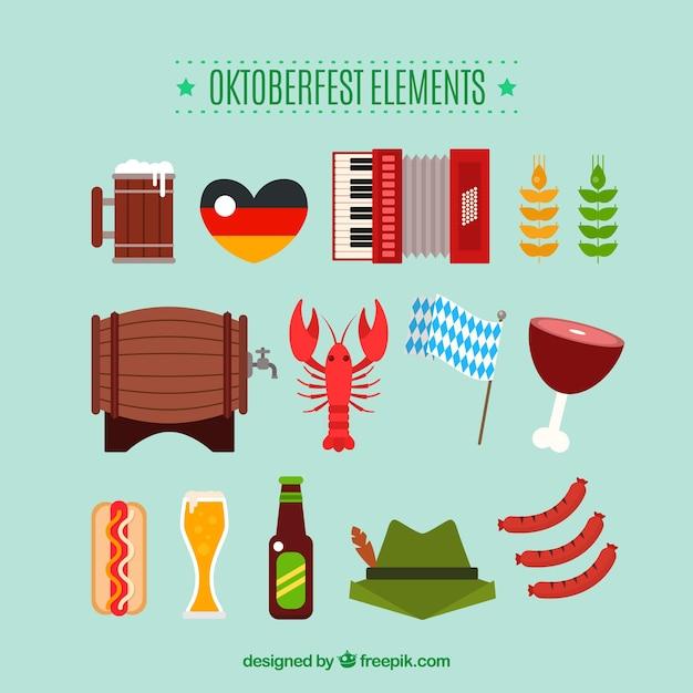 Oktoberfest, nice flat elements