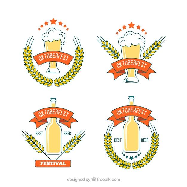 Oktoberfest party badges