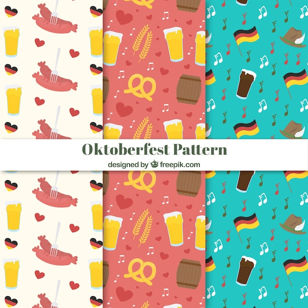 Oktoberfest pattern collection