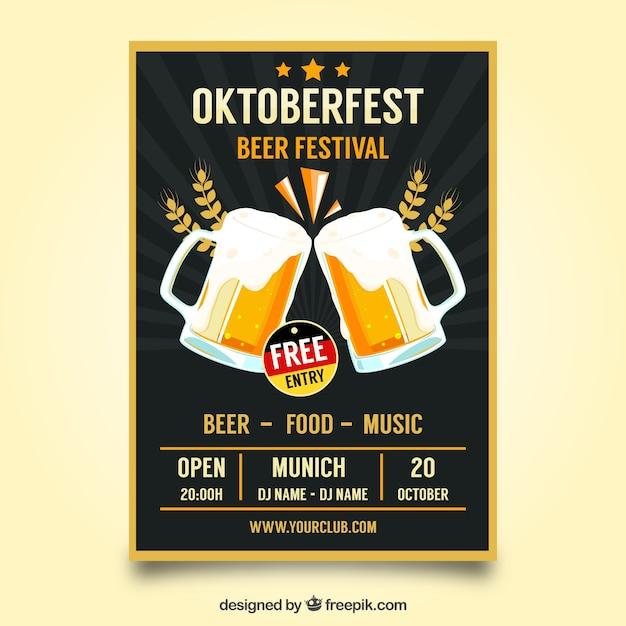 Oktoberfest poster template