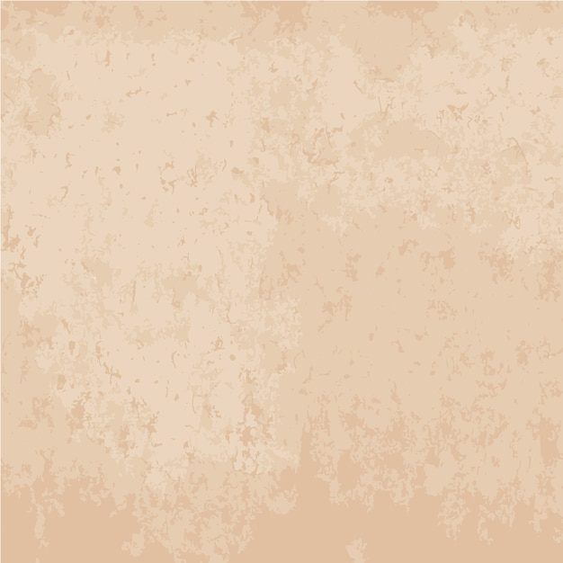 Old paper texture background in beige color Free Vector