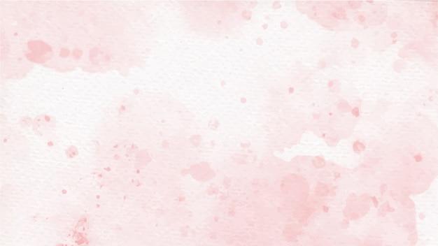오래 된 종이 바탕에 분홍색 다채로운 수채화 스플래시 장미 프리미엄 벡터