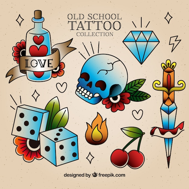 Old School Tattoo Vector Picker