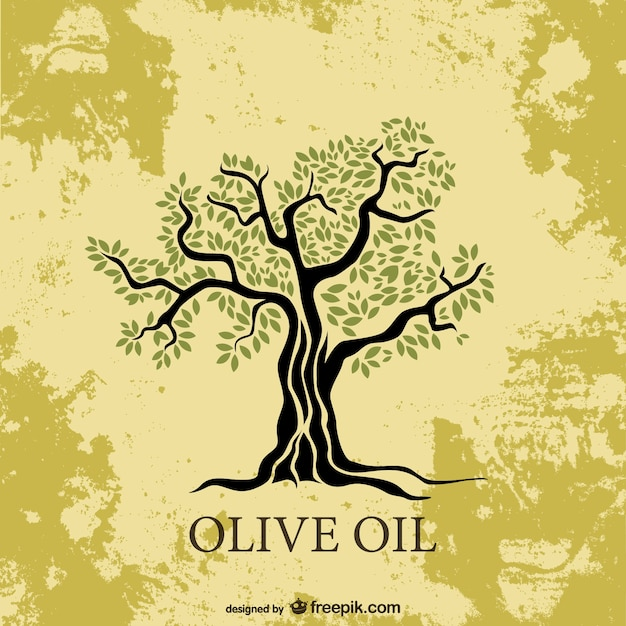 Olive tree Free Vector