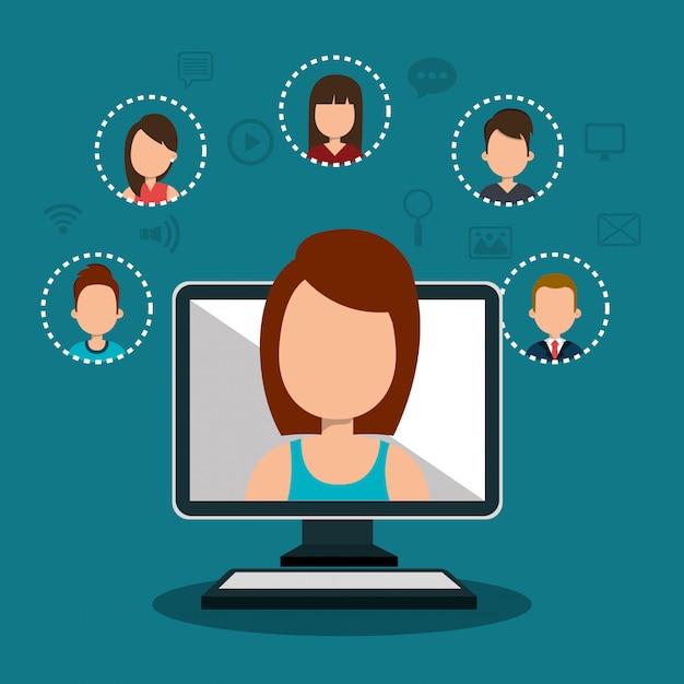 Online community Vector | Free Download