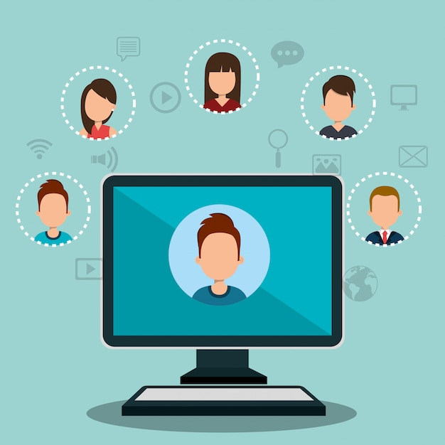 Online community | Free Vector