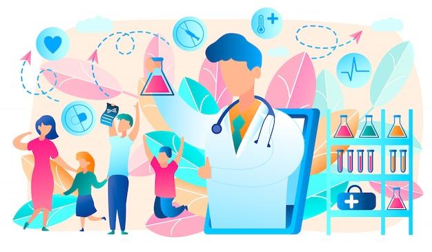 Online doctor Premium Vector