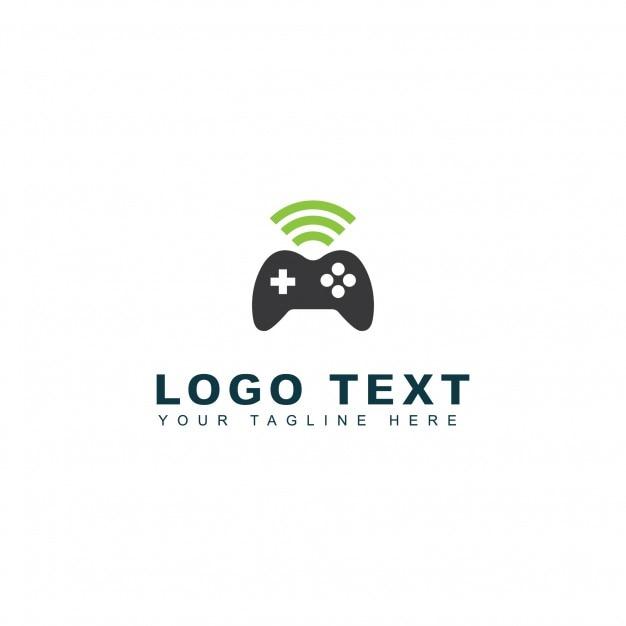 Online games logo Free Vector