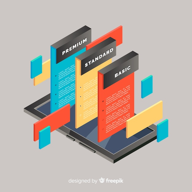 Online registration concept Free Vector
