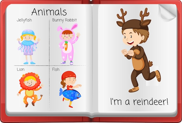 Open activity diary page Free Vector