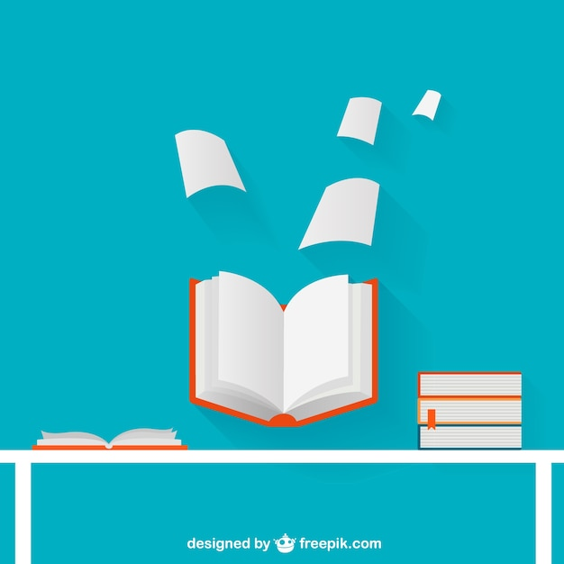 open book illustration vector free download stack of books vector free download Book Spine Vector