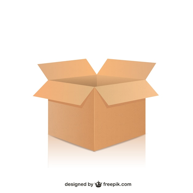 delivery box vector 3
