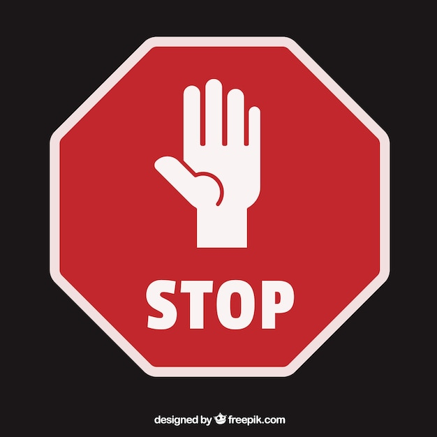 Stop Vectors Photos And Psd Files Free Download