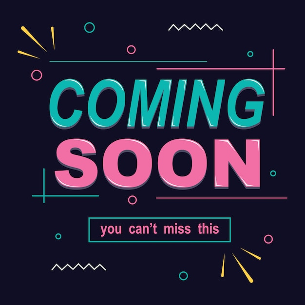 Opening coming soon banner poster badge design element | Premium ...