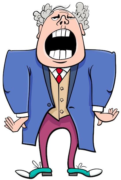 opera singer cartoon character vector premium download rh freepik com  opera singer clipart free