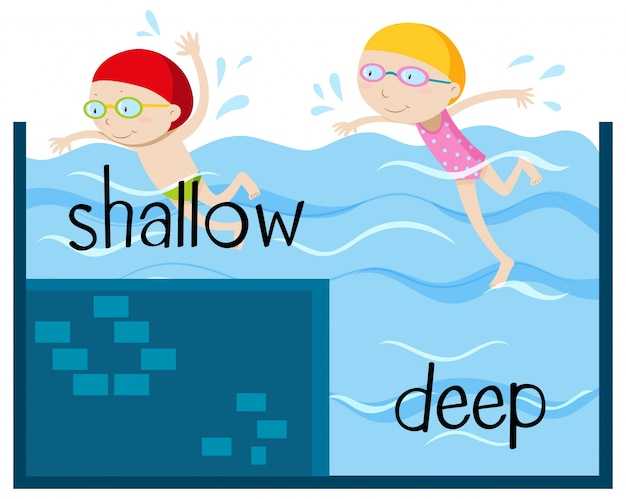17. deep - shallow